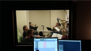 Blanes Brass Kintet a El Local Estudi de Gravació a Bescanó, Girona