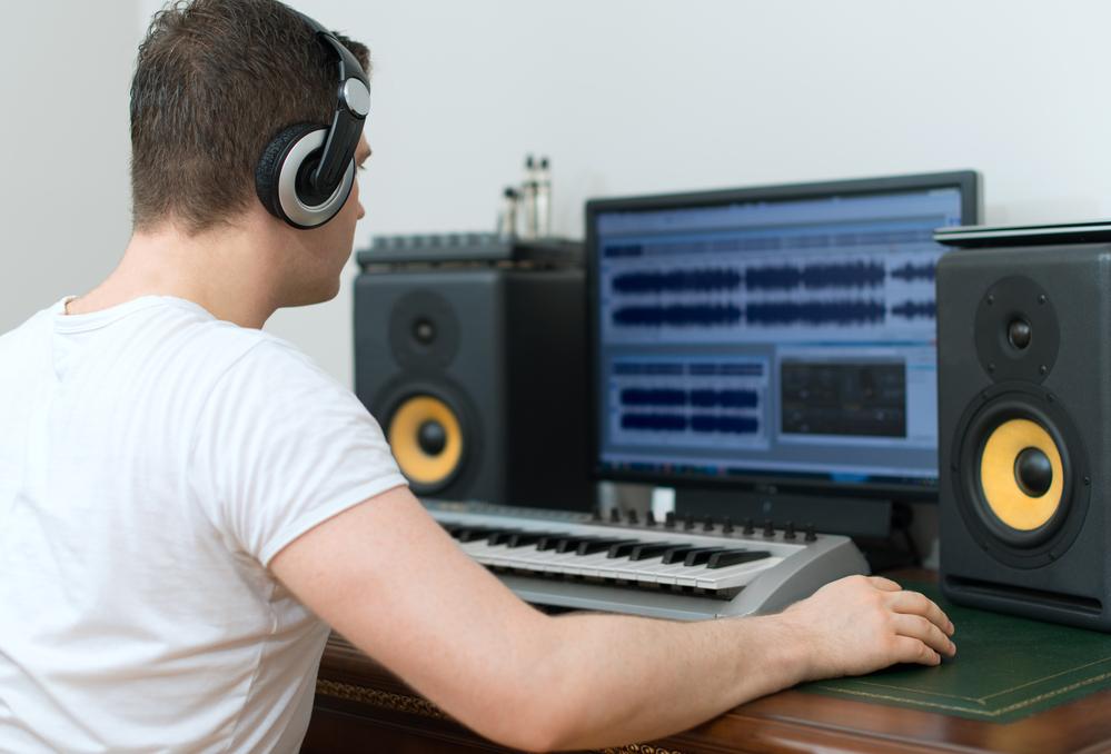 com fer un estudi de gravació a casa