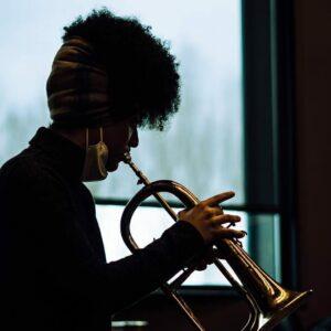 Milena Casado playing for Keith LaMar